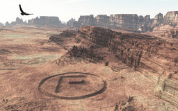 Impossible Geoglyphs Stock Photo