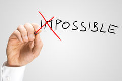 Impossible - Possible Stock Photos