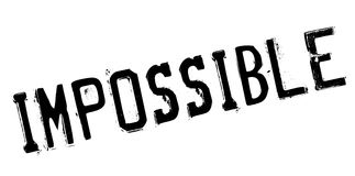 Impossible rubber stamp Royalty Free Stock Images