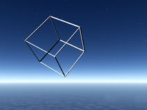 Impossible Shape. This is an impossible shape take a close look at it Stock Image