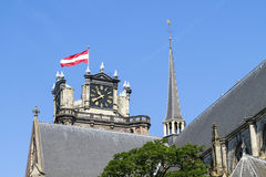 Impossing Dordrecht cathedral Stock Photos