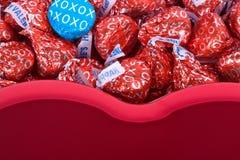 Impostazione di giorno del biglietto di S. Valentino. Immagine Stock