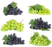 Imposti con l'uva Fotografia Stock Libera da Diritti