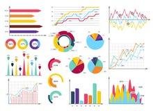 Imposti gli elementi del infographics Fotografie Stock Libere da Diritti