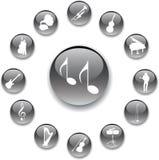 Imposti i tasti - 95_A. Musica Fotografia Stock
