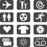 Imposti le icone - 2 Fotografia Stock Libera da Diritti