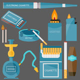 Imposti per fumare Immagini Stock Libere da Diritti
