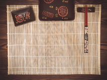 Imposti per i sushi Fotografie Stock