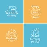 Imposti per pulizia illustrazione vettoriale