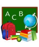 Imposti per uno scolaro Immagine Stock