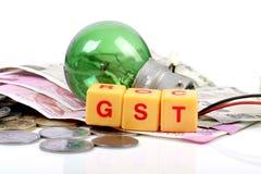 Imposto de GST Foto de Stock Royalty Free