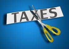Imposto de renda ilustração stock