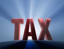Imposto grande ilustração stock