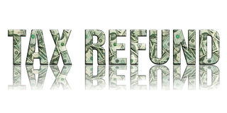 Imposto Refund2 Imagem de Stock