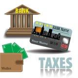 impostos Foto de Stock Royalty Free