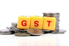 Impostos de Gst Imagens de Stock