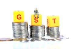 Impostos de Gst Imagem de Stock Royalty Free