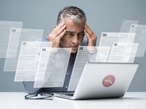 Impostos e contabilidade imagem de stock