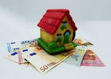 Impostos e hipoteca na casa, conceito fotos de stock royalty free