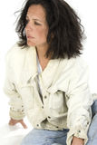 Impoverished Woman Stock Photo