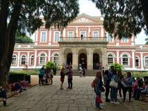 Impperialmuseum - polis van Petrà ³ - Rio de Janeiro stock foto's