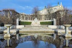 Impératrice Elisabeth Monument à Vienne, Autriche Photographie stock