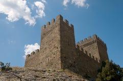 Impregnable fortress, Crimea Stock Image