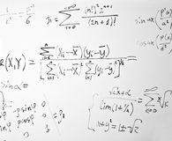 Impregnable mathematics Royalty Free Stock Photography