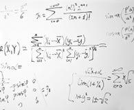 Impregnable mathematics royalty free stock photography