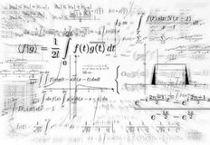 Impregnable mathematics Royalty Free Stock Image