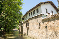 Impregnable walls Dryanovo Monastery in Bulgaria Stock Photo