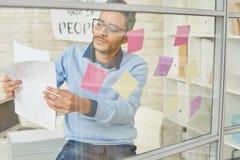 Imprenditore Startup Planning Project fotografia stock libera da diritti