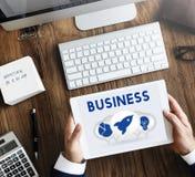 Imprenditore Target Strategy Concept di affari immagini stock