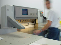 Imprensa de impressão Fotografia de Stock