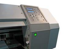 Imprensa de impressão isolada, painel de controle, textura Foto de Stock Royalty Free