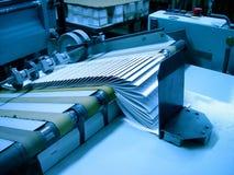 Imprensa de impressão Foto de Stock Royalty Free