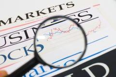 Imprensa de negócio imagem de stock royalty free