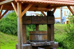 Imprensa de vinho imagens de stock