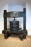 Imprensa de vinho de madeira Imagens de Stock