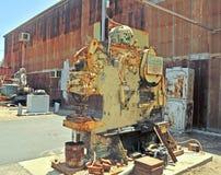 Imprensa mecânica aluída da máquina de Heller única imagens de stock
