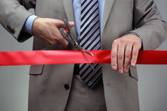 Impresa di nuovi affari Immagine Stock Libera da Diritti