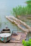 Impresa di piscicoltura Immagini Stock