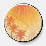 impresión abstracta del verano 3D en la frontera material desmenuzada foto de archivo