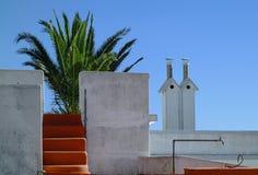 Impresión arquitectónica española Fotografía de archivo libre de regalías