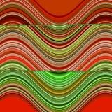 Impresión azteca del ikat del hippie del arco iris colorido del zigzag ilustración del vector