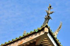 Impresión china del edificio tradicional Imagen de archivo libre de regalías