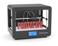 impresión 3D Imagen de archivo libre de regalías