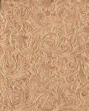 Impresión de cuero fileteada ilustración del vector