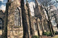Iglesia en Brujas Fotos de archivo