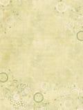 Impresión de la joya en el papel acanalado hecho a mano Foto de archivo